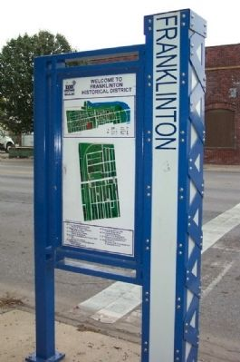 Franklinton Information Kiosk image. Click for full size.