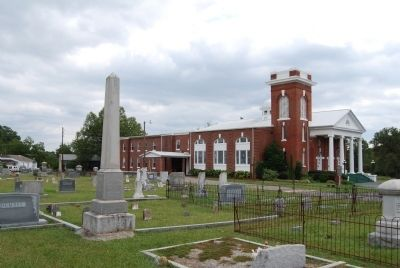 Red Bank Baptist Church and Cemetery Photo, Click for full size