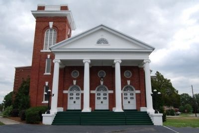 Red Bank Baptist Church - Front Elevation Photo, Click for full size