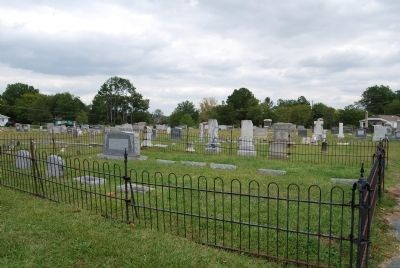 Red Bank Baptist Church Cemetery Photo, Click for full size