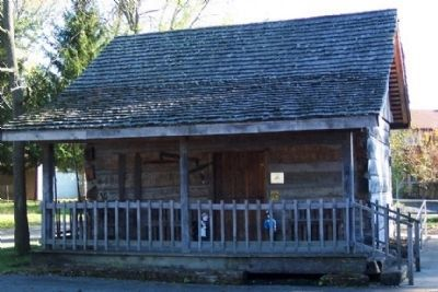 Log House at Greater Buckeye Lake Museum image. Click for full size.