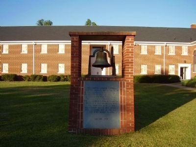 First Baptist Church, Cowpens Marker image. Click for full size.