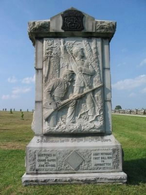 3rd Michigan Infantry Monument image. Click for full size.