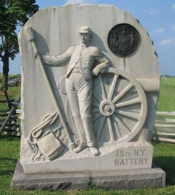 15th New York Battery Monument image. Click for full size.