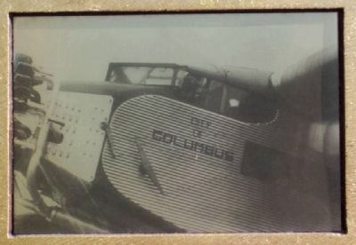 Photo of Ford Trimotor on Marker image. Click for full size.