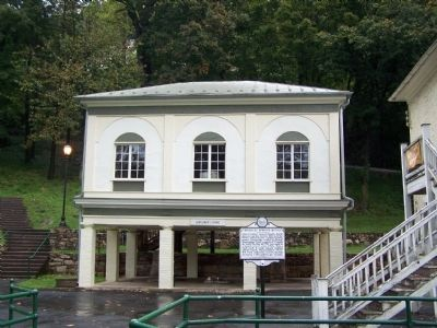 Berkeley Springs Baths image. Click for full size.