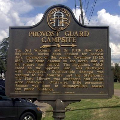 Provost Guard Campsite Marker image. Click for full size.