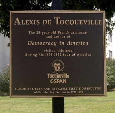 alexis de tocquevilles influence Alexis de tocqueville originally visited america to study its prison system certain patterns he observed influence the current, critical state of our criminal justice system certain patterns he observed influence the current, critical state of.