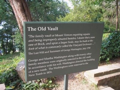 The Old Vault Marker image. Click for full size.