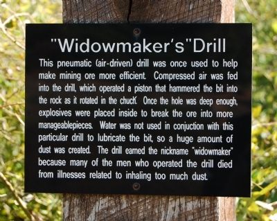 """Widowmaker's"" Drill Marker Photo, Click for full size"