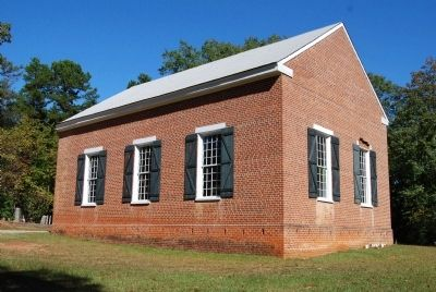 Old Pickens Church - North Side image. Click for full size.