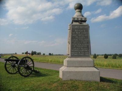 Clark's Battery Monument Photo, Click for full size