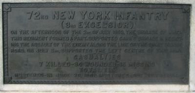 72nd Regiment Plaque image. Click for full size.