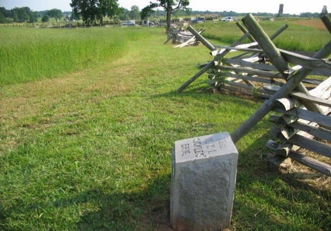 73rd Regiment Marker Stone Photo, Click for full size