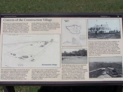Cisterns of the Construction Village Marker image. Click for full size.