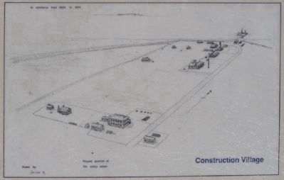 Sketch of Construction Village Marker image. Click for full size.