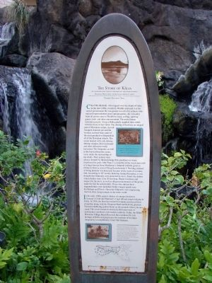 The Story of Kālia Marker image. Click for full size.