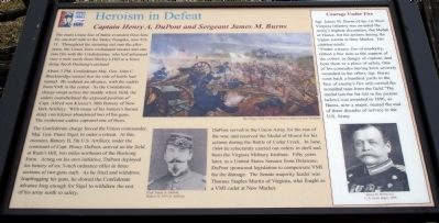 Heroism in Defeat Marker image. Click for full size.
