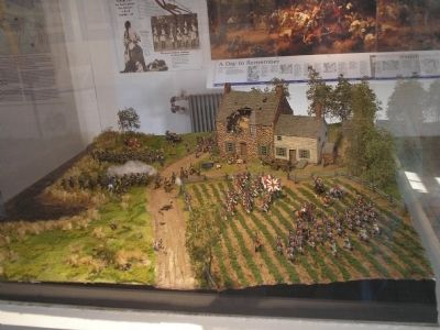 Battle at the Stone House Diorama Photo, Click for full size