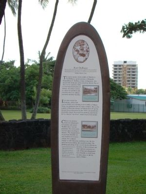 Fort DeRussy Marker Photo, Click for full size