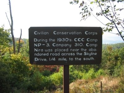 Civilian Conservation Corps Marker image. Click for full size.