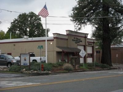 Fire House and El Dorado (Mud Springs) Marker Photo, Click for full size