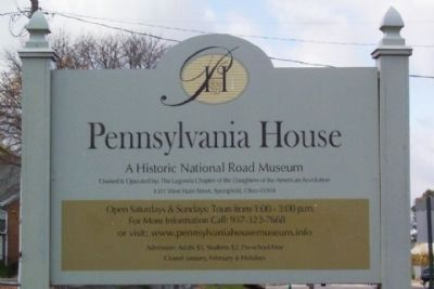 Pennsylvania House Sign image. Click for full size.