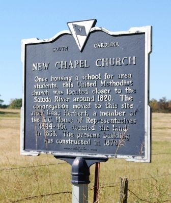 New Chapel Church Marker image. Click for full size.