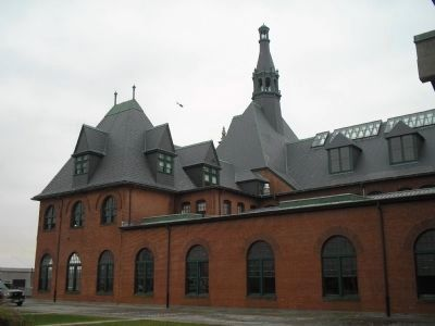 The Central Railroad of New Jersey Terminal Photo, Click for full size