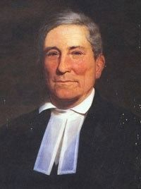John Bachman (1790-1874)<br>Founder of Newberry College image. Click for full size.