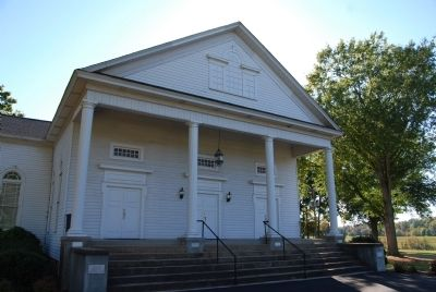 Bush River Baptist Church - Front Entrance Photo, Click for full size