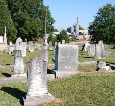 Old Bush River Church Cemetery<br>Located East of the Church Photo, Click for full size