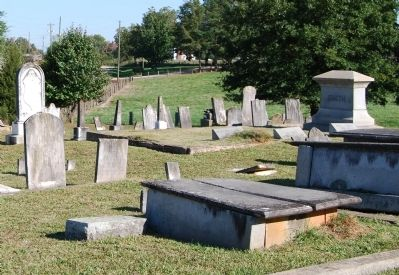 Bush River Church Cemetery Photo, Click for full size
