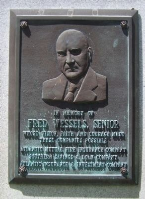 Fred Wessels, Senior Marker image. Click for full size.