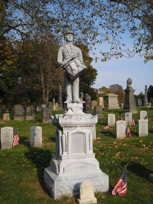 Our Drummer Boy Monument image. Click for full size.