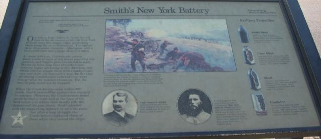 Smith's New York Battery Marker image. Click for full size.