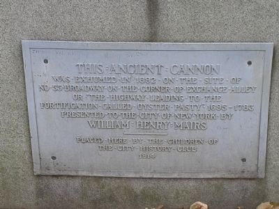 This Ancient Cannon Marker image. Click for full size.