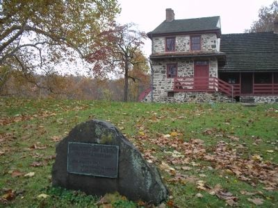 Marker in Brandywine Battlefield Park image. Click for full size.