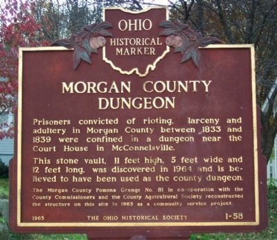 Morgan County Dungeon Marker image. Click for full size.