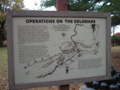 Operations on the Delaware Marker image. Click for full size.