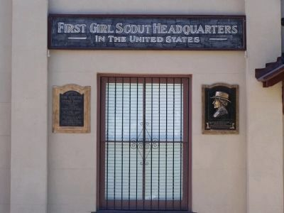 First Girl Scout Headquarters in America image. Click for full size.