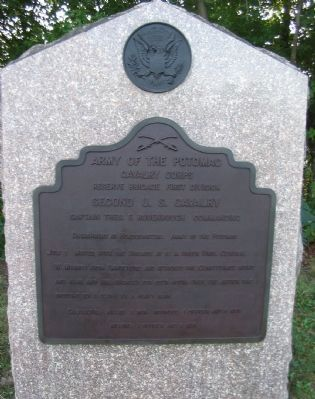 Second U.S. Cavalry Tablet image. Click for full size.