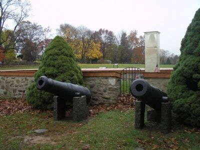 Paoli Massacre Monument image. Click for full size.