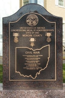 Congressional Medal of Honor Recipients Marker Photo, Click for full size