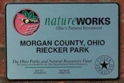 Riecker Park NatureWorks Marker image. Click for full size.
