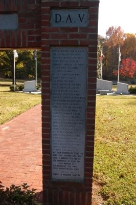 American Legion Memorial Archway Marker image. Click for full size.