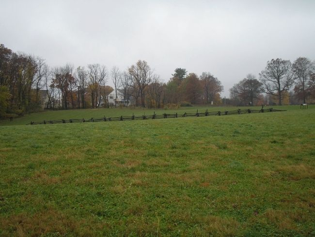 Site of the Paoli Massacre image. Click for full size.
