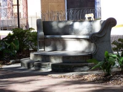 Oglethorpe Bench Photo, Click for full size