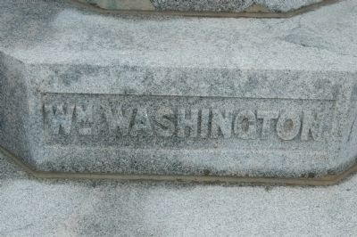Daniel Morgan Monument -<br>William Washington Photo, Click for full size