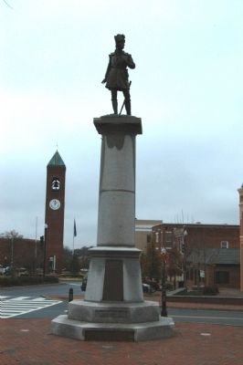 Daniel Morgan Monument Photo, Click for full size